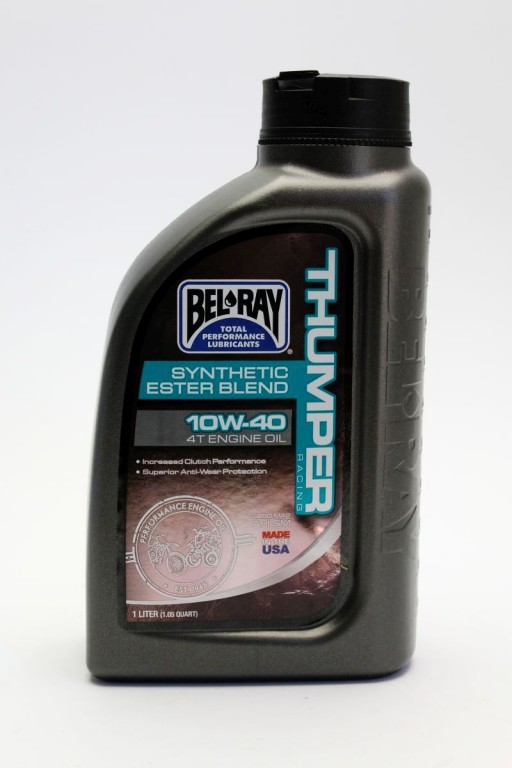 engine oil thumper racing synthetic ester blend 4t 10w-40