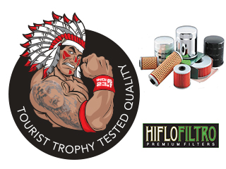 Tourist Trophy tested quality - HIFLOFILTRO