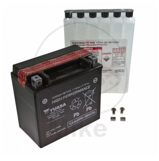 Battery - ATV / ATV HONDA / 350 / TRX 350 FM Fourtrax ... on