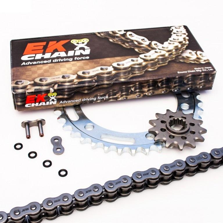 Yamaha XJR 1300 2007 2008 2009 2010 530 EK ZVX3 Chain Front Rear Sprocket Kit