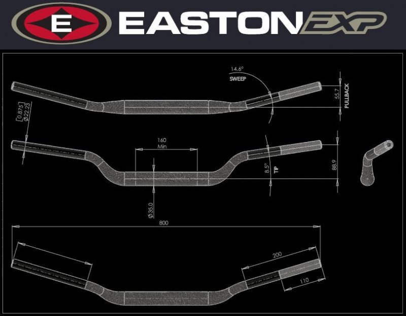 Handlebar EXP - Motorcycles / KTM / 50 / SX 50 Senior