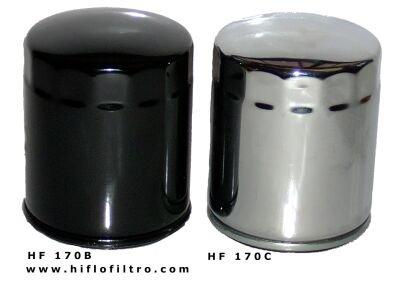 Harley Davidson FXSTS 1340 Softail Springer Racing Oil Filter Chrome